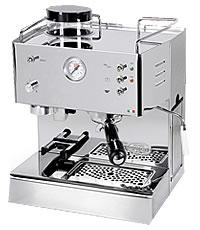 Quickmill - Modell 3035 Pegaso, Kaffeemaschine mit Kaffeemühle