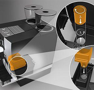 Jura - Kaffeesatzabwurf-Set GIGA*