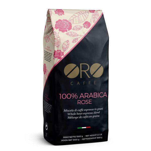 ORO Caffè 100% Arabica Rose 1kg Bohnen