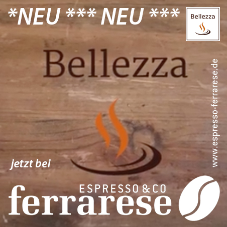 Bellezza Espresso-Maschinen jetzt auch in Darmstadt
