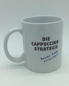 Motivations-Tasse Cappuccino-Strategie